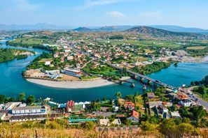 Mietauto Shkodra, Albanien