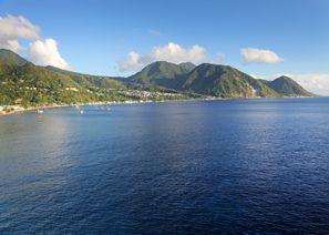 Mietauto Canefield, Dominica