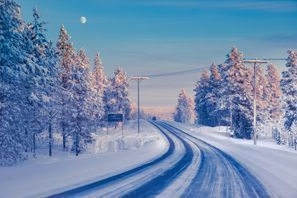 Mietauto Ivalo, Finnland
