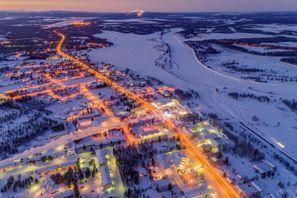 Mietauto Kittila, Finnland