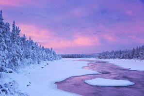 Mietauto Muonio, Finnland