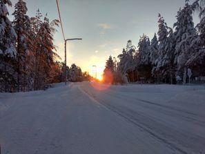 Mietauto Pello, Finnland