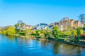 Mietauto Chester, Großbritannien