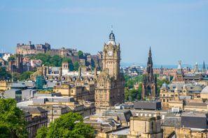 Mietauto Edinburgh, Großbritannien