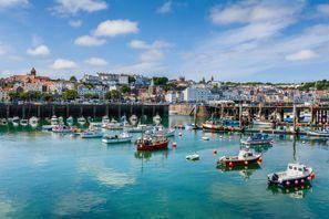 Mietauto Guernsey, Großbritannien