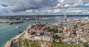 Mietauto Portsmouth, Großbritannien