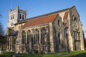 Mietauto Waltham Abbey, Großbritannien