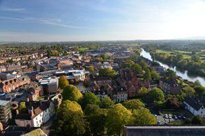 Mietauto Worcester, Großbritannien